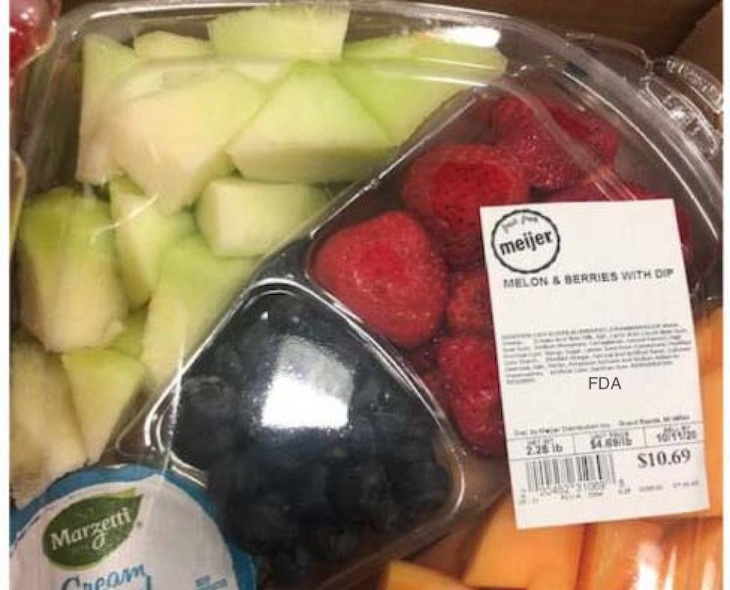 Meijer Recalls Whole Cantaloupe and Cut Trays For Salmonella