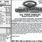 Mex-Tamales Foods Tamales Recalled For Sesame Seeds