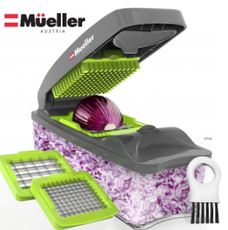 Stop Using Mueller Austria's Onion Chopper Pro Because of Possible Laceration Hazard