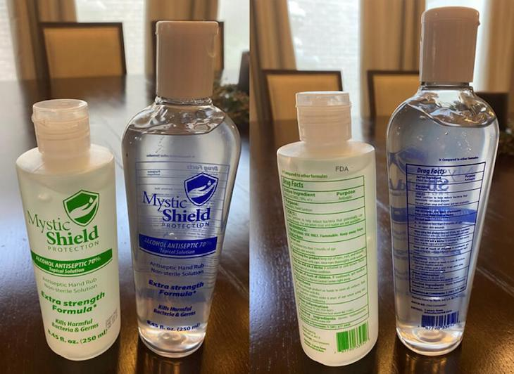 Mystic Shield Protection Topical Solution Recalled For Methanol