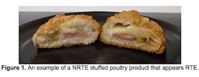 NRTE Stuffed Poultry Product