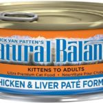 Natural Balance Ultra Premium Chicken & Liver Pate Cat Food Recalled