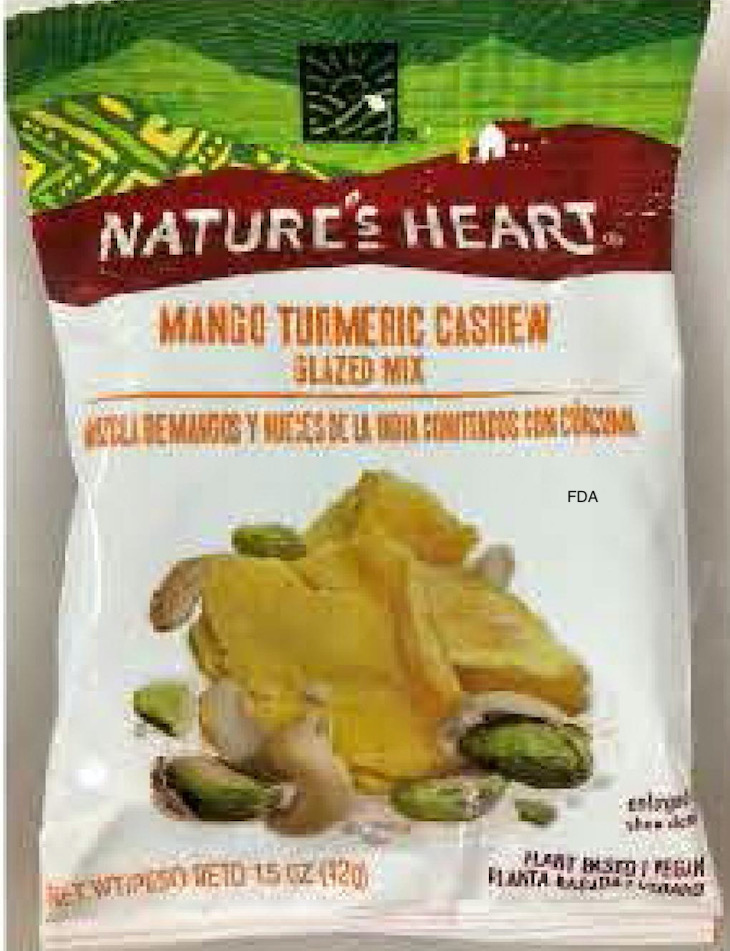 Nature's Heart Trail Mix Recalled For Undeclared Peanuts