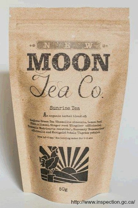 New Moon Tea Salmonella Recall