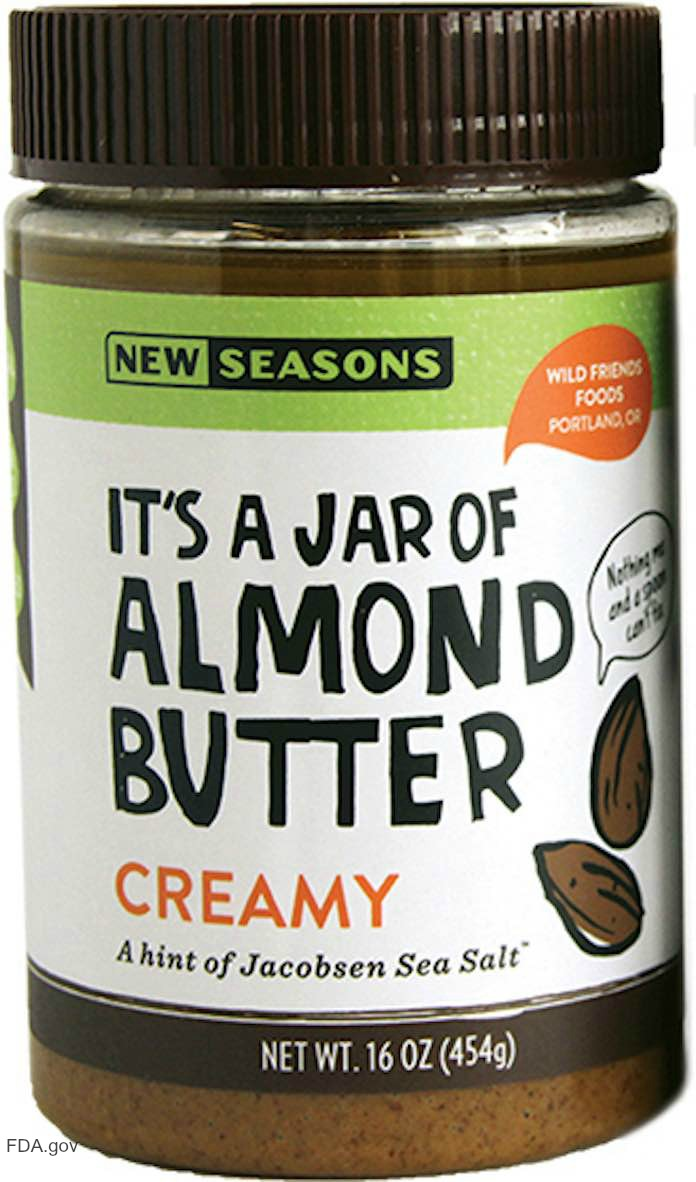 New Seasons Almond Butter Recall