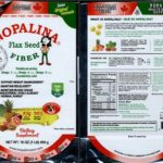 Recall of Nopalina Flax Seed Products For Salmonella Updated