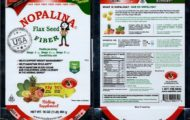 FDA Issues Health Alert Over Nopalina Flax Seed For Salmonella