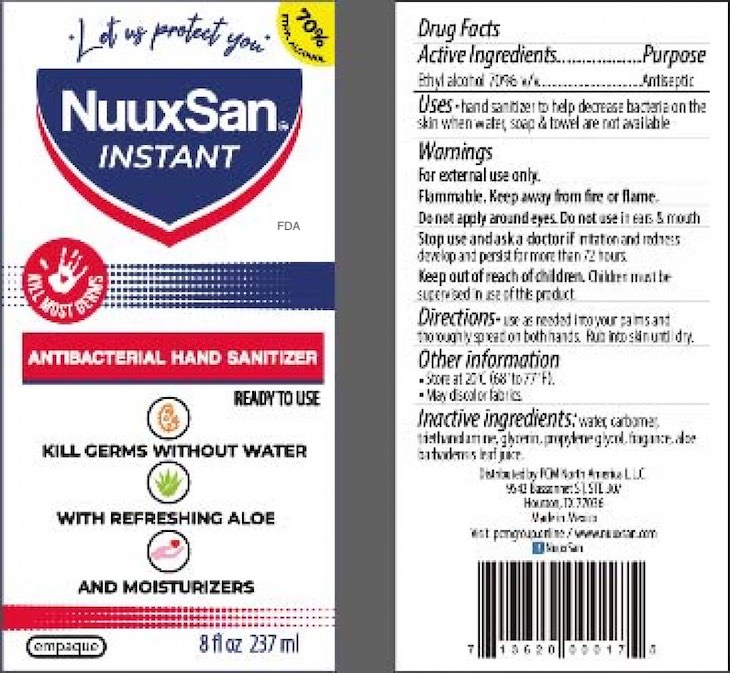 Nuuxsan Hand Sanitizer, Others Recalled For Wood Alcohol Content