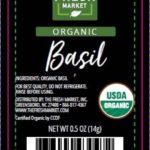 Organic Basil Recalled For Possible Cyclospora Contamination