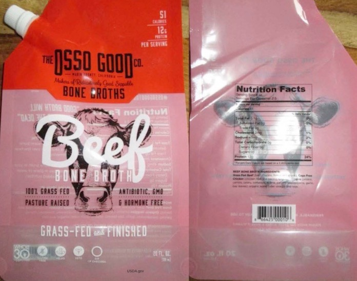 Osso Good Broth Recall