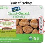 Perdue Simply Smart Organics Breaded Chicken Recalled
