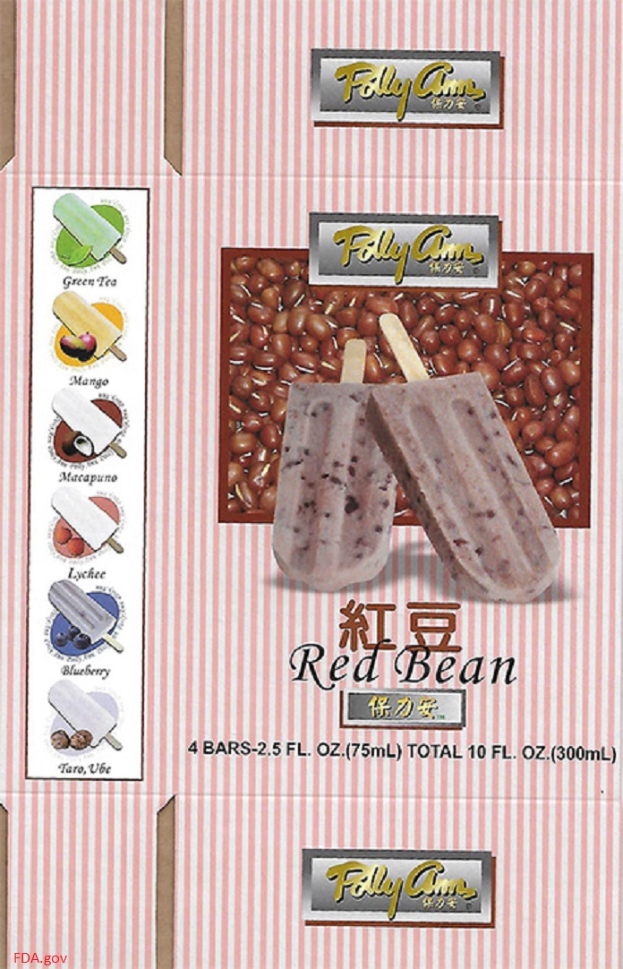 Polly Ann Ice Bar Recall