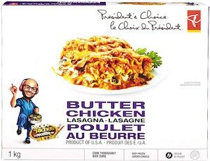 Presidents Choice Butter Chicken Recall