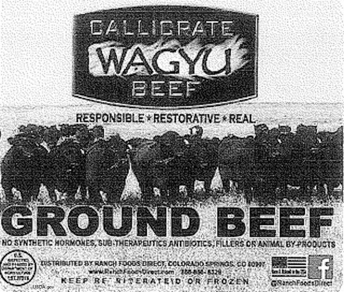 Ranch Foods Direct Wagyu Beef E. Coli Recall