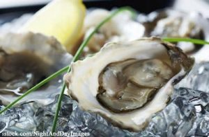 Raw Oyster Plate