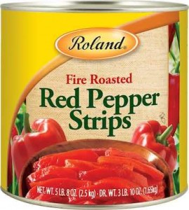 Roland Red Pepper Strips Recall