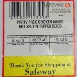 Safeway in Canada Recalling Chicken Wings for Staphylococcus