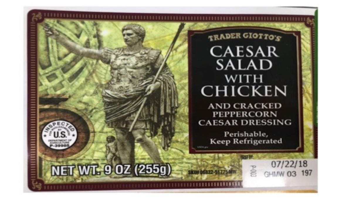 Salad Wrap Cyclospora Recall