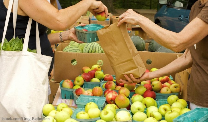Study Finds Low Level Contamination on Food at CA Farmers Markets