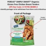 Simply Smart Organics Frozen Chicken Products Recalled