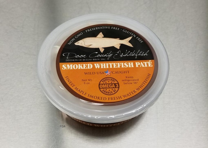 Door County Whitefish Pate Recalled For Undeclared Allergens