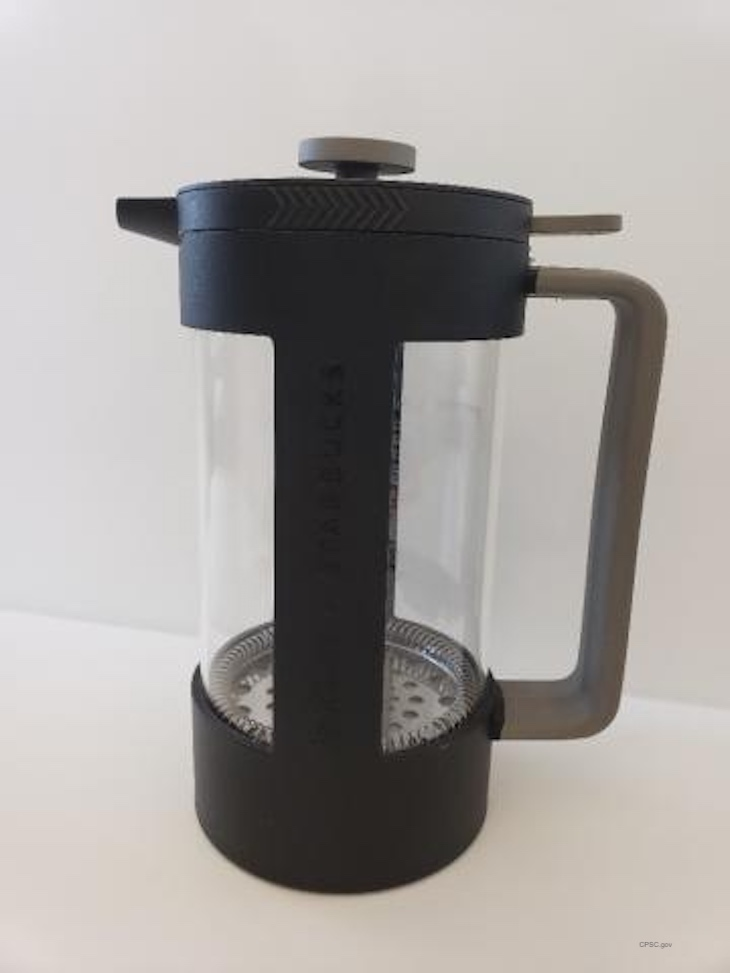 Starbucks Recalls Bodum Recycled Coffee Presses For Lacteration Hazard