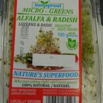Sunsprout Micro Greens Alfalfa and Radish Recalled For Salmonella
