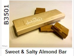 Sweet and Salty Almond Bar Recall