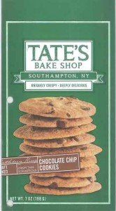 Tate's Ginger Zinger Cookies Walnut Recall