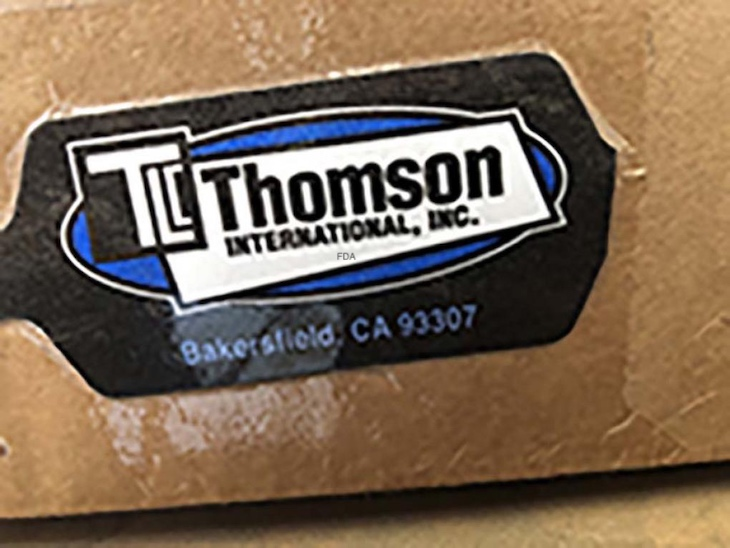 Thomson International Onions Recalled For Possible Salmonella