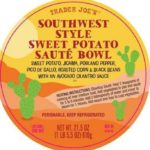 Trader Joe's Southwest Style Sweet Potato Bowl Recalled For Allergens