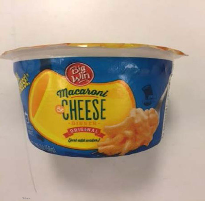 TreeHouse Mac and Cheese Salmonella Recall