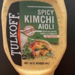 Tulkoff Kimchi Aioli Recalled For Undeclared Wheat and Soy