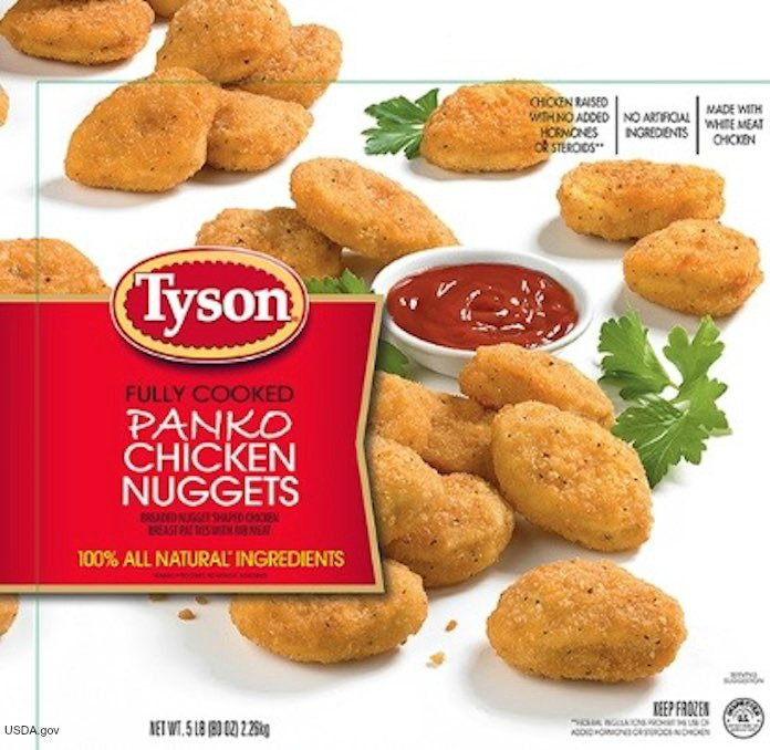 Tyson Panko Chicken Nuggets Recall