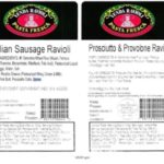 Frozen Ravioli Recalled for Lack of Inspection