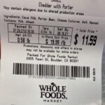 Whole Foods Cahill Cheddar Cheeses Recalled For Possible Listeria