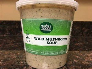 Whole Foods Wild Mushroom Soup Chestnut Recall