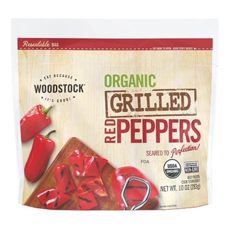 Woodstock Frozen Red Peppers Recalled For Possible Listeria