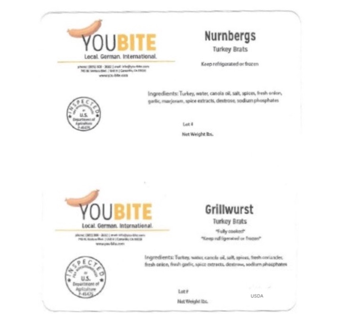 YOUBITE Sausage Products Recalled For Undeclared Allergen