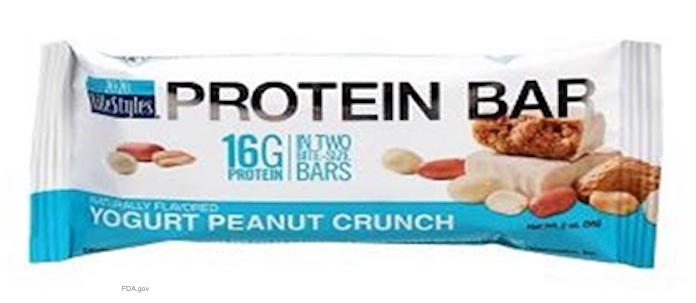 Yogurt Peanut Crunch Bar E. coli O157-H7 Recall