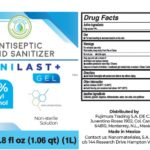 Zanilast+Gel Recalled For Containing 1-Propanol, a Toxic Compound