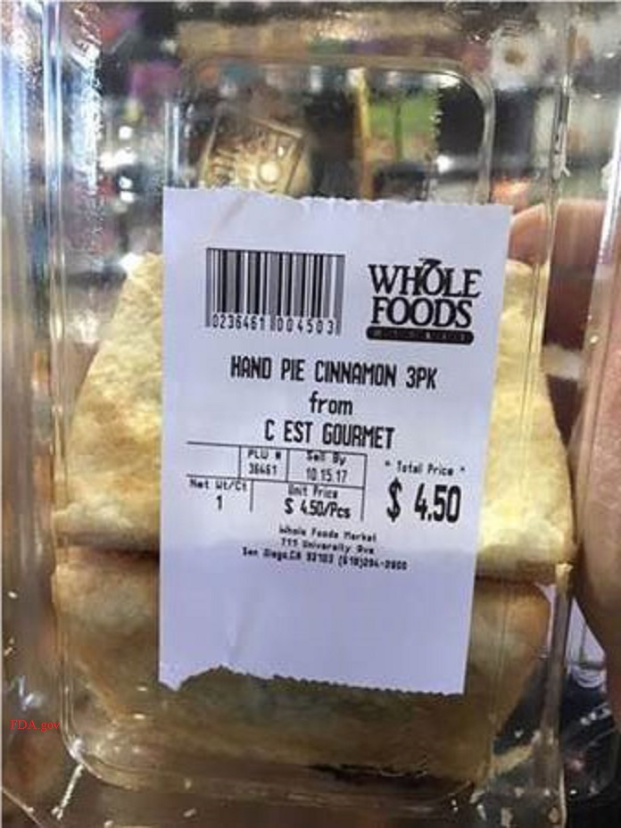 Whole Foods apple handpie recall