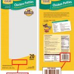 Frozen chicken recall