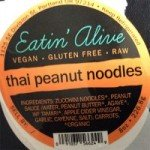 Eatin' Alive Thai Peanut Noodles Recalled for Undeclared Soy