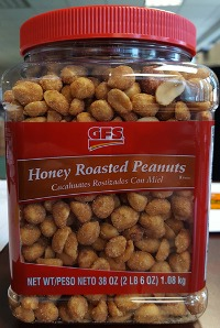 honey roasted peanut recall