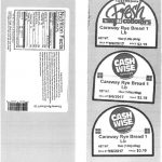 American and Caraway Rye Breads Recalled by Coborn's, Inc.