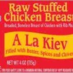 Chicken Kiev Salmonella Outbreak Watched in New Hampshire