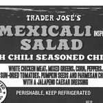 Trader Joe's Mexicali Salad Recalled for Undeclared Wheat