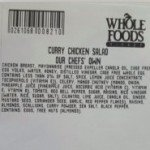 Massachusetts Whole Foods Recall Curry Chicken Salad for Listeria